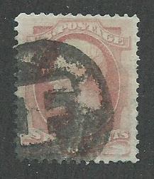 1879 United States Scott Catalog Number 186 Used