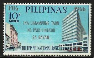 Philippines 1966 Scott# 956 MH