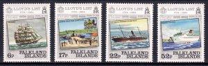 Falkland Islands - Scott #404-407 - MNH - SCV $3.70