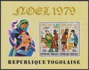 Togo #C405a YTBF133 MNH S/S CV$5 Christmas 1979