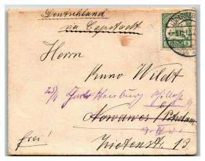 German South West Africa 1912 Cover / UNDERPAID - Z13912