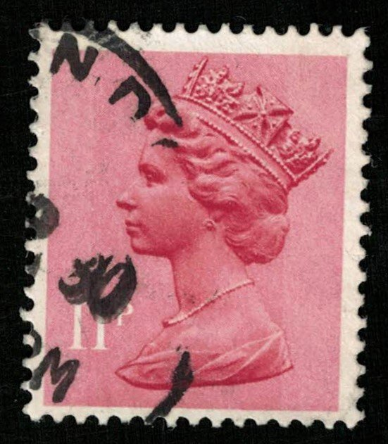 Queen Great Britain, 11 p (T-4890)