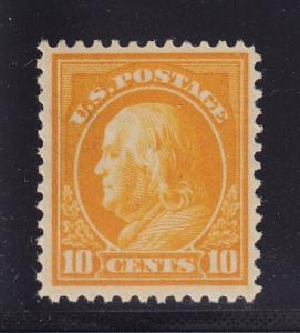 416 VF-XF original gum lightly hinged with nice color cv $ 43 ! see pic !