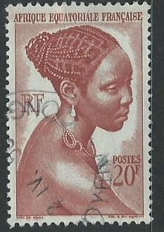 French Equatorial Africa  + Scott # 183 - Used