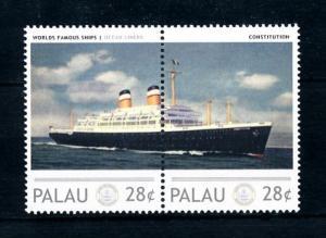 [90531] Solomon Islands  Ships Constitution Ocean Liners American Export  MNH