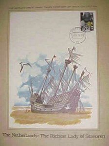 NETHERLANDS LADY OF STAVOREN  FAIRY TALE  PRINT & WRITE UP SIZE 11 x 812