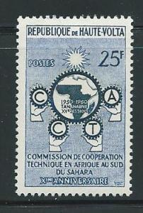 Burkina Faso 89 1960 CCTA Single MNH