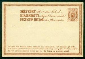 FINLAND Norma PK12 I, 16pen postal card, unused, VF, Norma $40.00