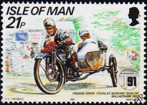 Isle of Man. 1991 21p S.G.479 Fine Used