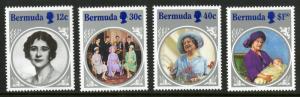 Bermuda 469-472 MNH SCV $5.65 BIN $2.85 Royalty