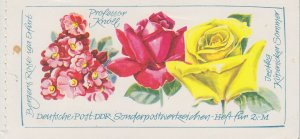 GERMANY DDR [Markenheft] MiNr 21-1 ( **/mnh ) Blumen