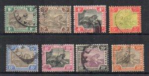 Malaysia - Federated Malay States 1900-01 values to 50c FU CDS