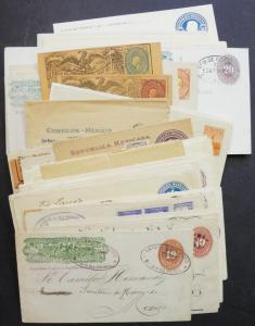 EDW1949SELL : MEXICO Fantastic Postal History of 62 Mint & Used item as received