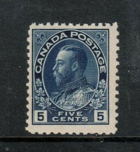 Canada #111 Mint Fine Never Hinged
