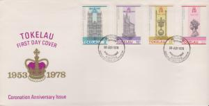 Tokelau Islands 1978 Coonation Anniversary Issue First Day Cover