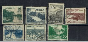 D - Angola 1949 Vues #311-317 complet set used