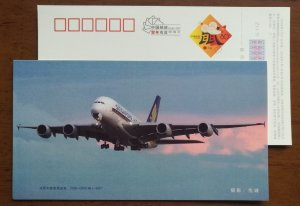 Airbus A380 long distance wide body aircraft,CN 08 Singapore Airlines PSC