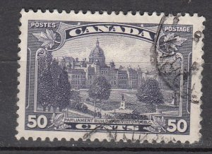 J26208 jlstamps 1935 canada used #226 parliament building