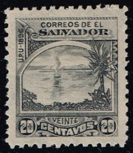 El Salvador #166 Lake Ilopango; Unused (8.00)