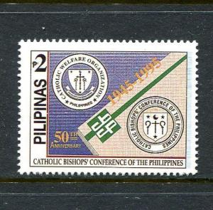 Philippines 2361, MNH,Catholic Bishops Conference of the Philippines (CBCP) 1995