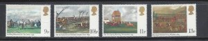 Great Britain MNH 863-6 Derby Paintings