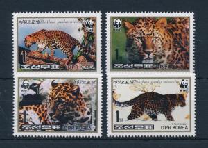 [54033] Korea 1998 Wild animals Mammals WWF Leopard MNH