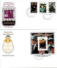 Royalty, Worldwide First Day Cover, Grenada