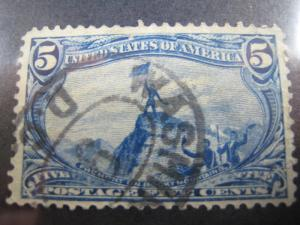 UNITED STATES - SCOTT #288 - Used
