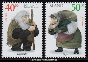Iceland Scott 924-925 Mint never hinged.