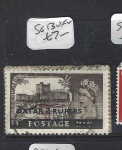 QATAR  (PP1604BB)  QEII  CASTLES  2R/2/6  SG 13   VFU