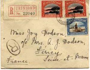 Trinidad 3c Mt. Irvine Bay, Tobago (2) and 6c Discovery of Lake Asphalt 1936 ...