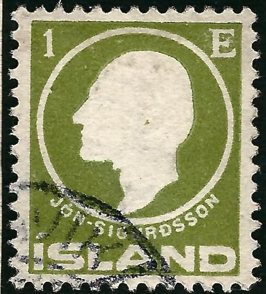 Used Iceland 1911 #86 VF SCV$2.50...High Qualityl!!
