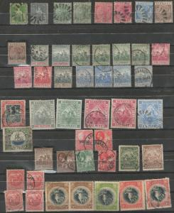 Barbados stamp collection