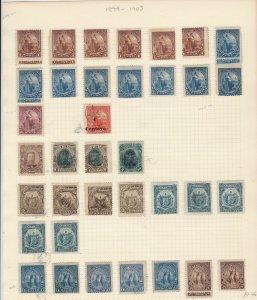 Salvador 1899-1903  Stamps Ref 15551