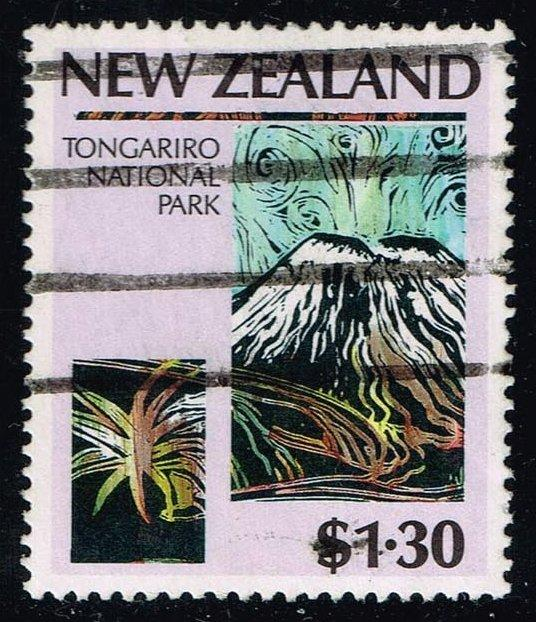 New Zealand #830 Tongariro Volcano; Used (2.10)