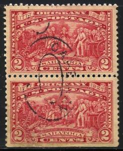 United States 1927 Scott# 644 Used pair