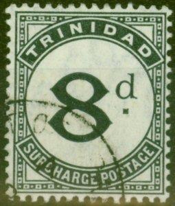 Trinidad 1905 8d Slate-Black SGD16 V.F.U