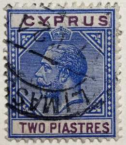 AlexStamps CYPRUS #79 XF Used