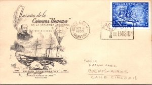 Argentina, Worldwide First Day Cover, Polar