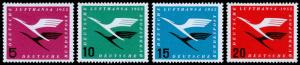 Germany Scott C61-C64 (1955) Mint NH VF Complete Set C