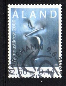 Aland Finland Sc 167 2000 Gymnastics Festival stamp used