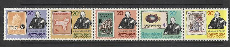 Christmas Island #90 comp mnh Scott cv $1.10 Stamps on Stamps