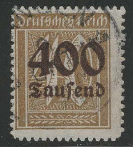 Germany Reich Scott # 276, used, exp h/s