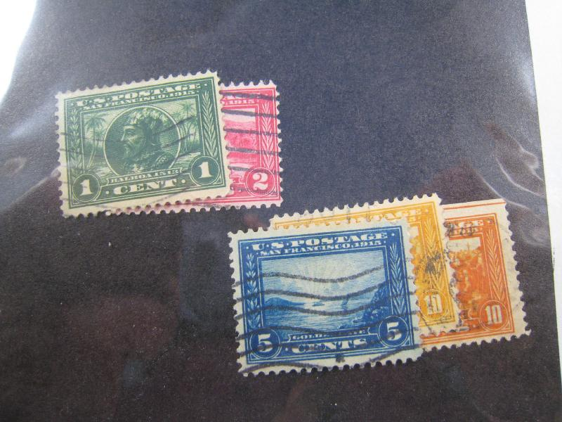 UNITED STATES - SCOTT #397-400A - USED COMPLETE SET