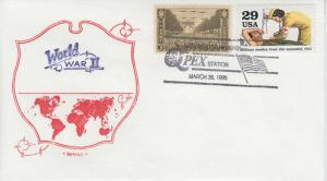 1995 50th Anniv End of WWII Manchester NH Artopage