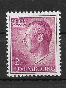 Luxembourg 1966 Grand Duke Jean MNH**