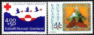 Greenland #B17-8  MNH CV $5.00 (X1296)