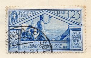Italy 1930 Virgil Early Issue Fine Used 1.25L. 139856