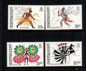 Montserrat   547 - 550  MNH  $ 4.85