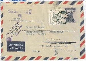 COPERNICUS \ SCIENCE \ ASTRONIMY \ MATHS - POSTAL HISTORY COVER: POLAND1958